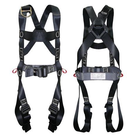 Cinturão de segurança tipo paraquedista/abdominal, confeccionado em fita de poliéster, ca, argolas, peitoral, espaço confinado, nr 33, 35082