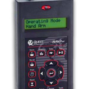 analisador, medidor, vibração, havpro, quest, 3m, acelerometro, seat pad, corpo inteiro, mãos e braços, nho, 09, 10, nr 15